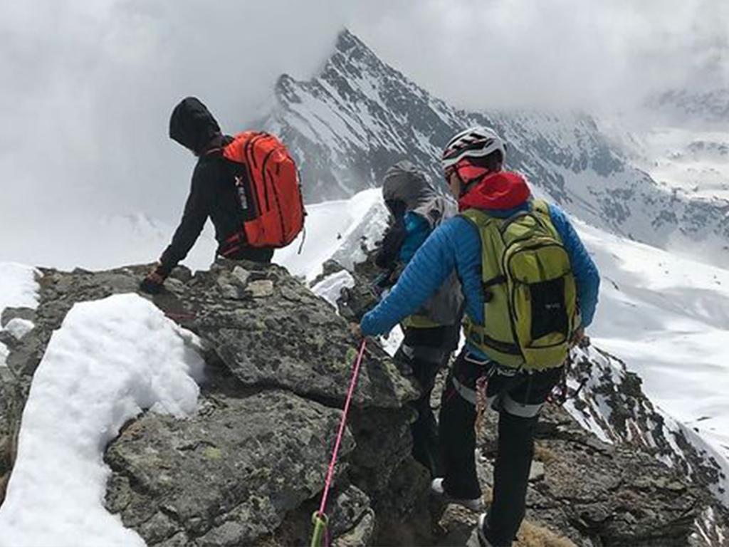 Verletzter Skitourengeher unter schwierigsten Verhältnissen geborgen