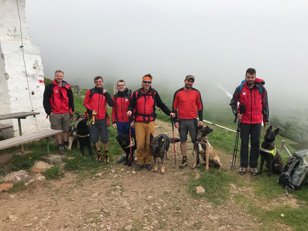 Hundestaffel: Talschaftsübung Mürztal