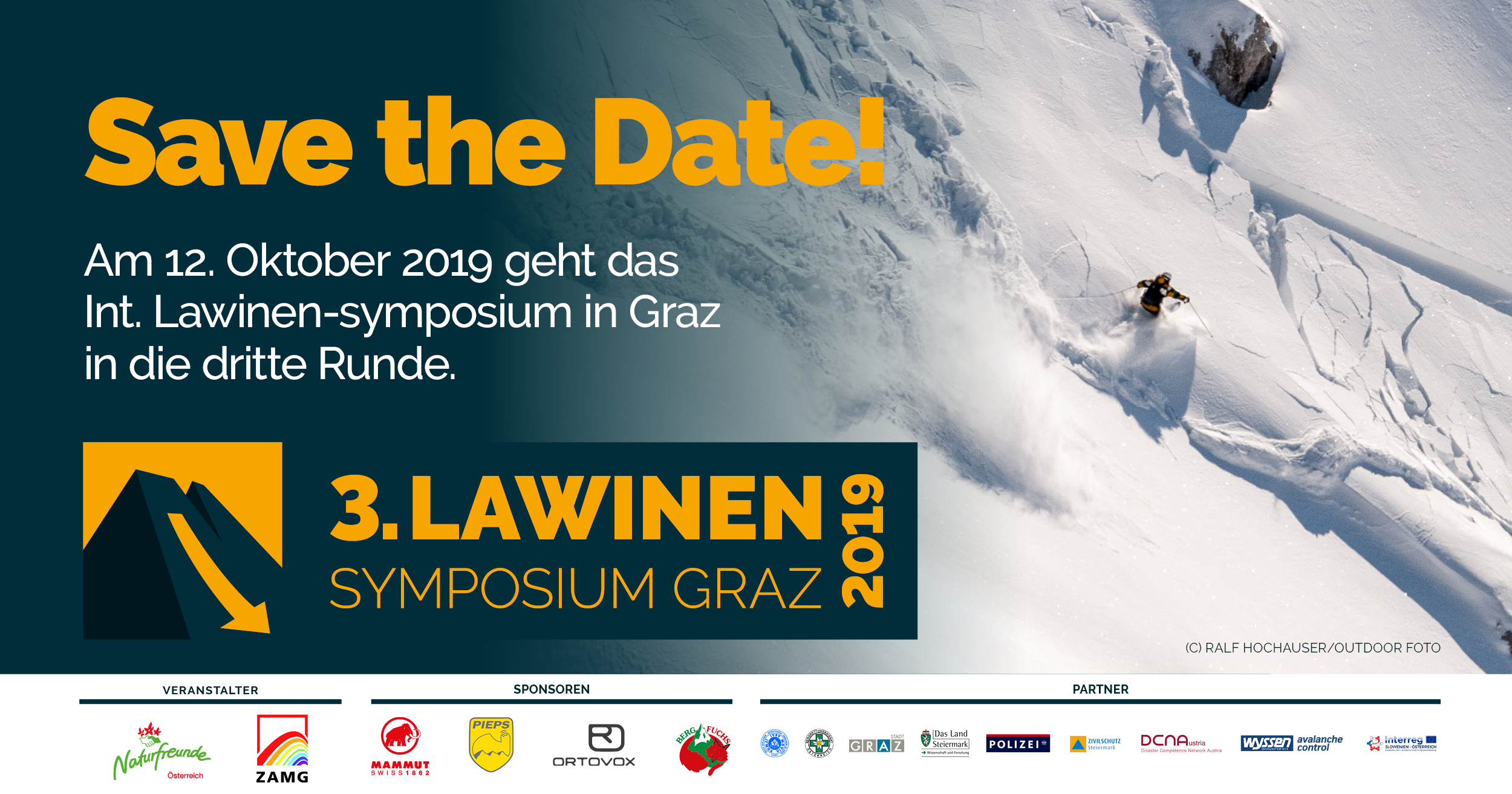 3. Internationales Lawinen-Symposium in Graz